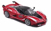 Bburago FXX K 1/24 Diecast Model Car (Maroon)