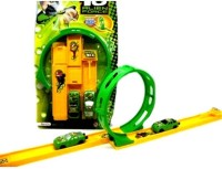 Turban Toys Ben10 Racing Car With Track (Green)