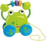 Fisher Price Push & Pull Along Fisher Price Growing Baby Pull Along Froggie