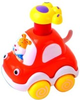 Smart Picks Lovely Rabbit Forest Animal Car (Multicolor)