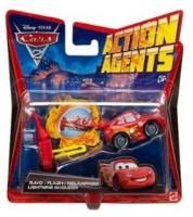 Disney Pixar Mattel Disney Pixar Cars 2 Action Agent With PIT Launcher Mcqueen/ Allinol V3016 (Multicolor)