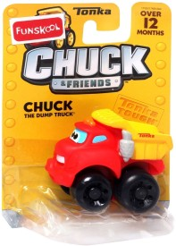 Funskool Chuck The Dump Truck - Chuck And Friends - Chuck