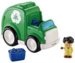 Fisher Price Push & Pull Along Fisher Price Little People Recycling Truck