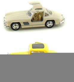 Kinsmart Mercedes SL Coupe and Ford 1932 Vintage