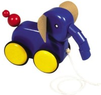 Guidecraft Pull-Along Animal Friends - Elephant (Multicolor)