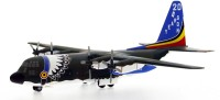 Hogan Wings Aircraft Scale Model, M Series C-130H Belgium Air Force , Scale 1:200 (with Stand & Gear) (Multicolor)