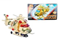 New Pinch Fighter Helicopter Battery Operated (Multicolor)