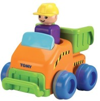 TOMY Push N' Go Truck Baby Toy (Multicolor)