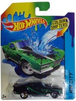 Hot Wheels Hot Wheels Color Shifter Model: Blvd.Bruiser (Blue)