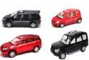 Centy Centy Pack Of 4 Scorpio Innova Ritz XUV 500 - Red, Black