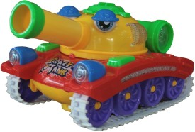 AdraxX 360 Rotating Wheel Crazy Toy Tank
