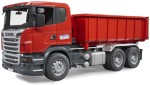 Bruder Cars, Trains & Bikes Bruder Scania Truck With Roll Of Container