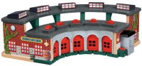 Fisher-Price Thomas Wooden Railway Deluxe Roundhouse (Multicolor)