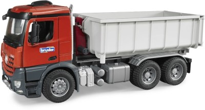 Bruder Cars, Trains & Bikes Bruder Mb Arocs Truck With Roll Of Container