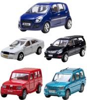 A R ENTERPRISES Ritz, Bolero, Scorpio, Innova & Skoda Octavia - Combo Of 5 Cars (MULTI)