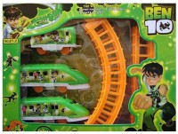 Wishkey Battery Operated Ben 10 Train Set (Multicolor)