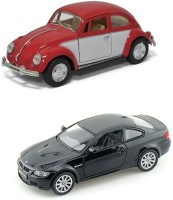 I-gadgets Kinsmart Volswagen 1967 Classical Beetle And Bmw M3 Coupe (Red, Black)
