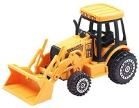 Aivtalk Diecast Metal Construction Vehicle Car Model Toys - 4 Wheels Shovel Truck (Multicolor)