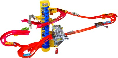 Flat 48% Off on Hot Wheels Wall Tracks Mega Set INTL at Flipkart