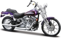 Maisto Harley-Davidson 2001 FXSTS Springer Softail: Vehicle Pull Along
