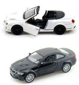 Mayatra's Kinsmart Bentley Continental & Bmw M3 Coupe