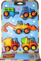 Huile Toys Happy Construction Vehicle (Multicolour)