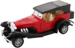 Tootpado Cars, Trains & Bikes Tootpado Vintage Classic Metal Toy Car With Pull Back Mechanism Playing Cars For Kids
