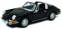 BBURAGO 1/32 Porsche 911 Diecast Model Car (BLACK)