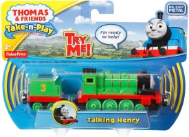 Fisher-Price The Train Take-N-Play Talking Henry Train