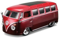 BBURAGO Van Samba 1/32 Diecast Model Van (brown)