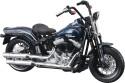 Maisto Harley-Davidson 2008 FLSTSB Cross Bones: Vehicle Pull Along