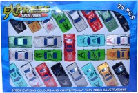 Cool Toys Pack Of 25 Pcs Car (Multi Color)