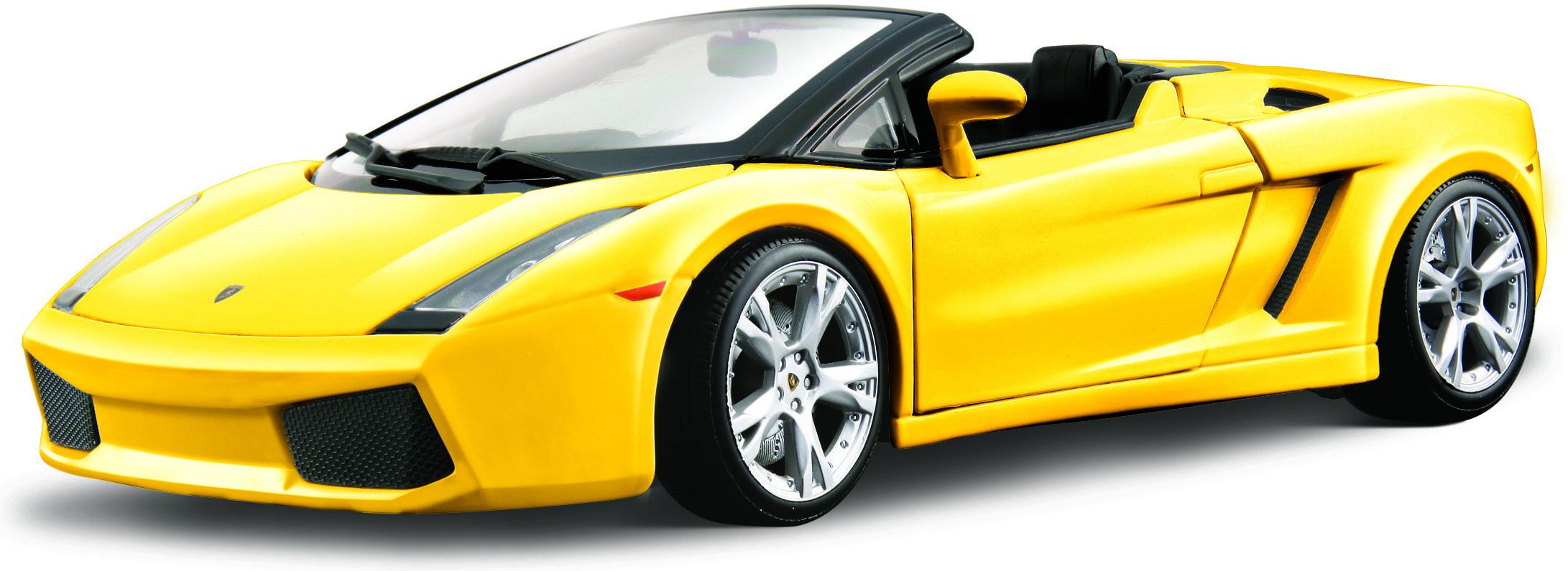 Buy Bburago Lamborghini Gallardo Spyder Yellow 1912 By Bburago
