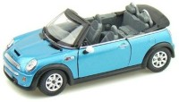 Kinsmart Mini Cooper Convertible Blue (Multicolor)