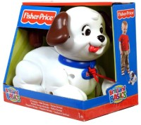 Fisher-Price Brilliant Basics Lil Snoopy Pull Along Toy (Colors May Vary) (Multicolor)