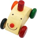 Villcart Wooden Joker Car Toy - Multicolor001