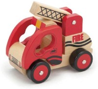 Viga Stacking Fire Truck (Multicolor)