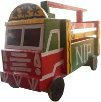 Hellobachpan Wooden Punjabi Truck (Red Green)