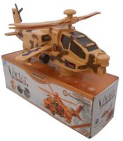 CP BIGBASKET Victor Combat Helicopter Toy For Kids (Brown)