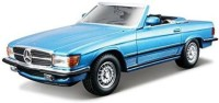 Bburago Mercedes Benz 450 SL 1/32 Diecast Scale Model Car (Blue)