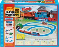 Walk Over Totally Toys Tomis Train Track Set (Yellow, Red)
