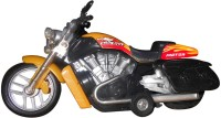 Smart Picks High Performance Bike Diecast Metal With Music (Multicolor)
