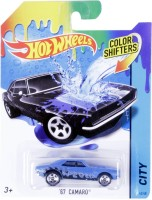 Hot Wheels Color Shifter 67 Camaro Vehicle (Blue)