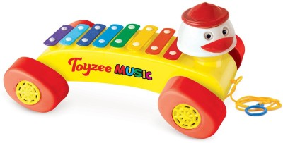 Toyzee Push & Pull Along Toyzee Xylophone Toy