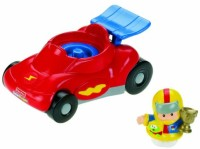 Fisher-Price Little People Race Car (Red, Blue)
