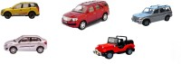 Centy Pack Of 5 XUV 500 Fortuner Dezire Scorpio Classic Jeep (Multicolor)