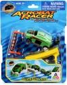 Toy Triangle Acrobat Racer Quantum Leap Car - Green, Yellow, Orange