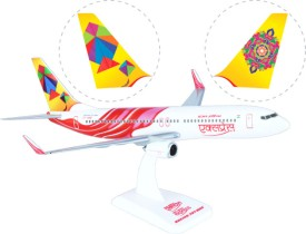 Hogan Wings Aircraft scale model, Boeing 737-800 Air India Express (VT-AXB), Scale 1:200 (with Stand & gear)