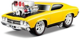 Maisto 1969 Chevrolet Chevelle SS Muscle Machine 1:24 Diecast Toy Car Model