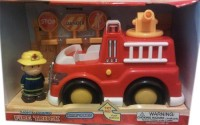 POLYPERFECT Lights And Sounds Fire Truck (Red)